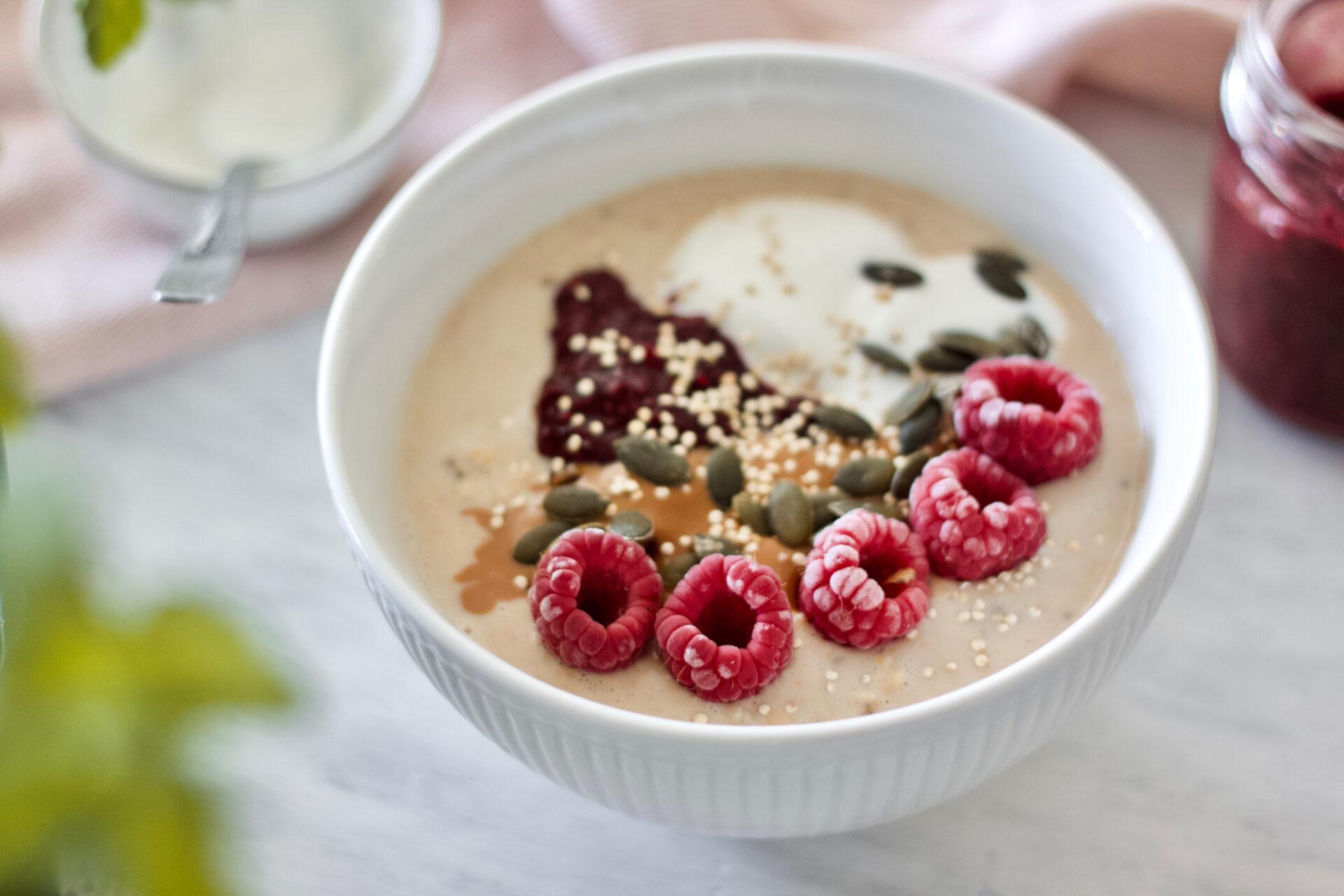 Healthy-vegan-overnight oats-jam-red berries-saudável-aveia adormecida-compota-frutos vermelhos-4
