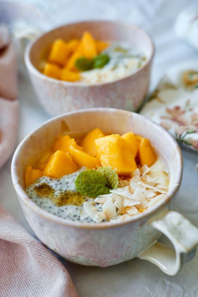 mango-coconut-yogurt-with-chia-pudding - 2