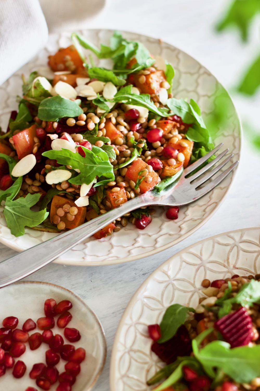 Healthy-vegan-butternut squash-salad-salada-saudável-abóbora-1