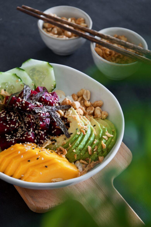 Vegan-Beets-Poke-Bowl-Taça-Sushi-Beterraba-Saudável - 3